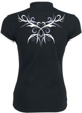 Fashion Victim - Etninskinspirert topp -T-skjorte - svart, hvit