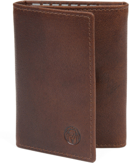 Montreal Ljusbrun RFID Nyckelfodral i Läder