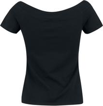 Hell Bunny - Alex Top -T-skjorte - svart