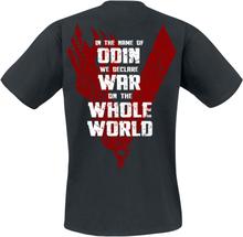 Vikings - Odin -T-skjorte - svart