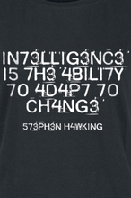 Intelligence Is The Ability To Adapt To Change - -T-skjorte - svart