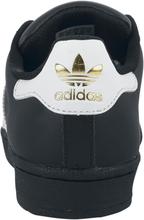 Adidas - Superstar Foundation -Sneakers - svart, hvit