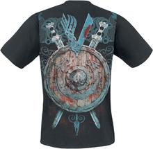 Vikings - Ragnar - Battle -T-skjorte - svart
