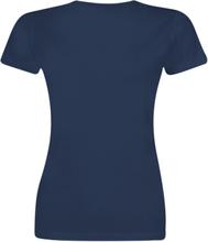 Star Trek - Discovery - Disco -T-skjorte - marineblå