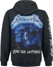 Metallica - Ride The Lightning -Hettejakke - svart