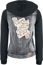Harry Potter - I Solemnly Swear -Dongerijakke - svart denim