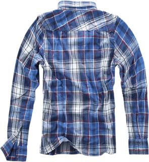 Brandit - Rutete skjorte -Langermet skjorte - blå-rød-hvit