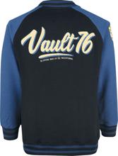 Fallout - 76 - Vault 76 -Collegejakke - svart-blå