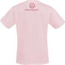 Overwatch - D.VA - Pixel -T-skjorte - rosa
