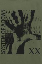 System Of A Down - Intoxicated -T-skjorte - olivengrønn