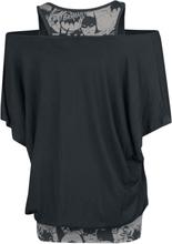Batman - Bat Signal -T-skjorte - svart