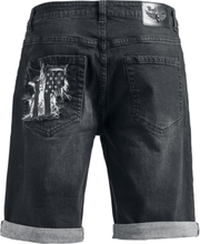 Rock Rebel by EMP - Walk With Me In Hell -Shorts - svart
