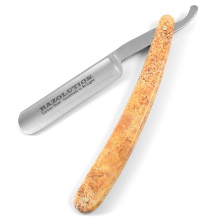 """Amber 5/8"""" Carbon Barberkniv"""