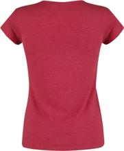Mickey Mouse - Original -T-skjorte - rødmelert