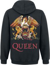 Queen - Crest Vintage -Hettegenser - svart