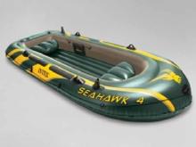 Intex 68351NP, Rejse/fritid, Oppustelig båd, Grøn, Gul, 4 person(er)