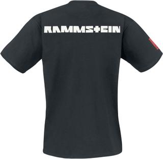 Rammstein - Logo -T-skjorte - svart