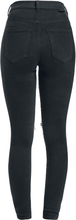 Dr. Denim - Moxy Ripped Knees -Jeans - svart