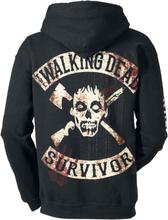 The Walking Dead - Kill Or Die -Hettejakke - svart