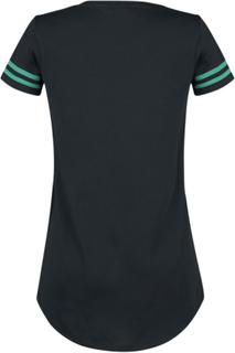 Sesam Stasjon - The Good, The Bad, The Hungry -T-skjorte - svart-grønn