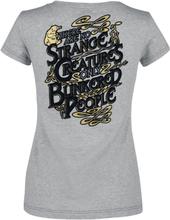 Fantastic Beasts - Grindelwalds Verbrechen - Niffler -T-skjorte - lysegrå