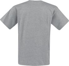 Sesam Stasjon - Krümelmonster - Born To Be Hungry -T-skjorte - gråmelert