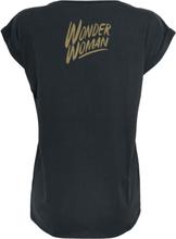 Wonder Woman - Warrior -T-skjorte - svart
