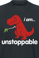 Goodie Two Sleeves - I Am ... Unstoppable -T-skjorte - svart