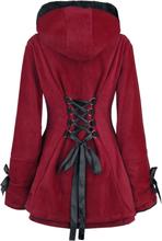 Poizen Industries - Alison Coat -Kort jakke - rød
