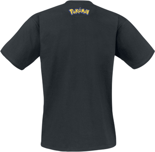 Pokémon - Pikachu - Poster -T-skjorte - svart