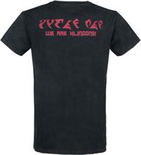 Star Trek - We Are Klingons! -T-skjorte - mørkegrå