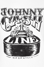Johnny Cash - Walk The Line -T-skjorte - hvit