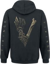 Vikings - Bone Logo -Hettegenser - svart