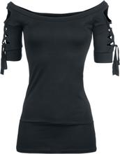 Outer Vision - Kork -T-skjorte - svart