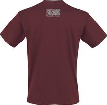 World Of Warcraft - Horde Logo -T-skjorte - burgunder
