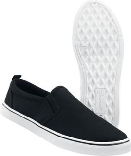 Brandit - Southampton Slip On Sneaker -Sneakers - svart-hvit