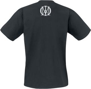 Dream Theater - Distance Over Time Logo -T-skjorte - svart