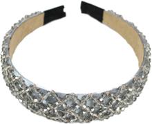 Diadem Med Fasetterade Stenar 2,8 Cm