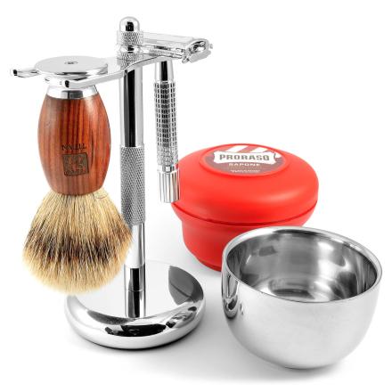 Luksus Barbersæt i Rødeg