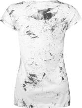 Outer Vision - Skeleton Lovers -T-skjorte - hvit