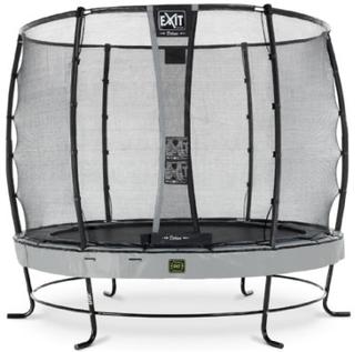 EXIT Trampolin Elegant Premium diameter 305cm med Deluxe sikkerhedsnet - grå