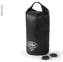 Dry pack 50 liter, svart, nylon 210t
