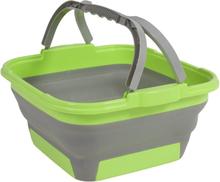Oppvaskbøtte sammenleggbar Cleo grønn