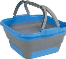 Oppvaskbøtte sammenleggbar Cleo blå
