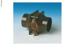 Rørvifte 80x80 mm, lengde 112 mm, begge sider kobling for 60 mm slange