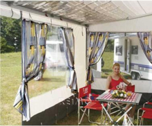 Tilleggsstriper for Privacy Room F45S 300 VW T5 lr/van