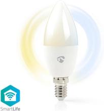 SmartLife LED kronljus 4,5W Dim2warm (35W)