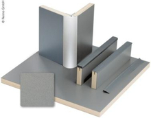 Møbelplate antrasitt metallic 1/4