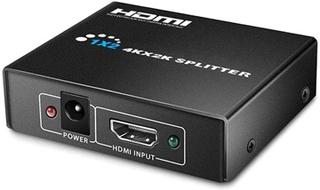 HDMI Splitter 1 x 2 - 3D, 4K Ultra HD - Sort