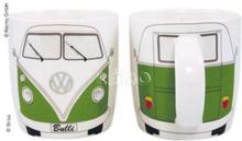 VW kaffekopp Bulli grønn